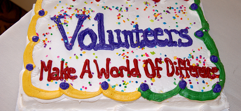 Volunteer Cake